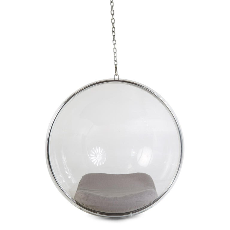 Late 20th Century Eero Aarnio for Adelta Lucite Hanging Bubble Chair For Sale