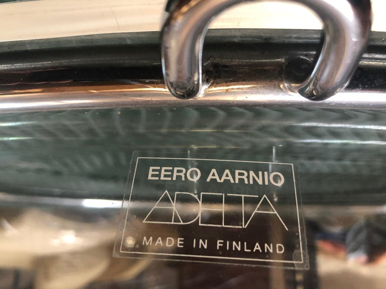 Lucite Hanging 'Bubble Chair' by Eero Aarnio for Adelta, Signed, Restored For Sale 1