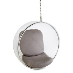 Eero Aarnio for Adelta Lucite Hanging Bubble Chair