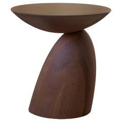 Eero Aarnio Small Walnut Parabel Table