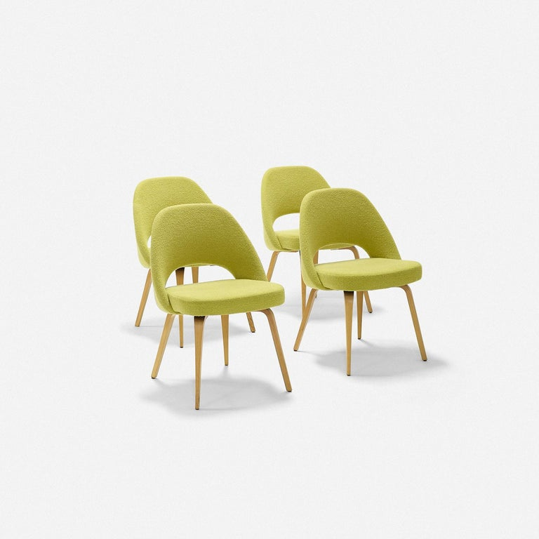 Eero Saarinen Dining Chairs for Knoll For Sale 1