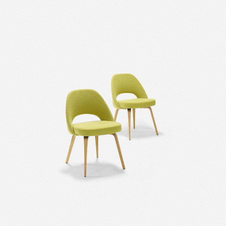 Eero Saarinen Dining Chairs for Knoll For Sale 2