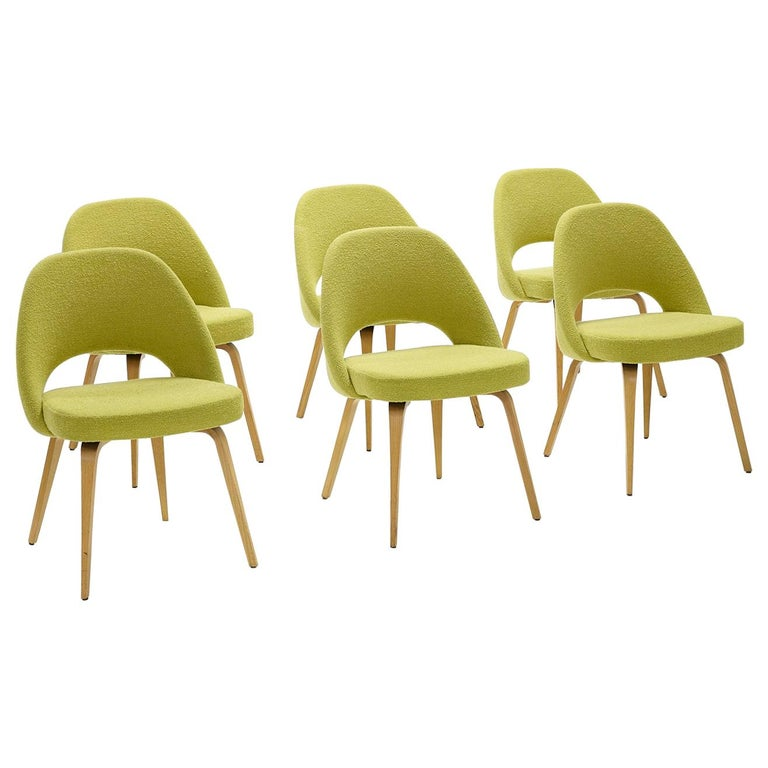 Eero Saarinen Dining Chairs for Knoll For Sale