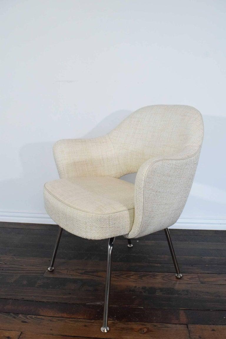 American Eero Saarinen Executive Armchair For Sale