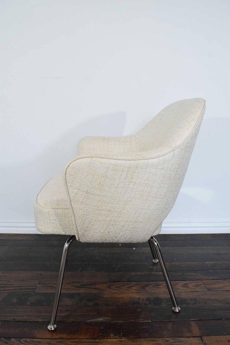 Eero Saarinen Executive Armchair In Excellent Condition For Sale In Dallas, TX