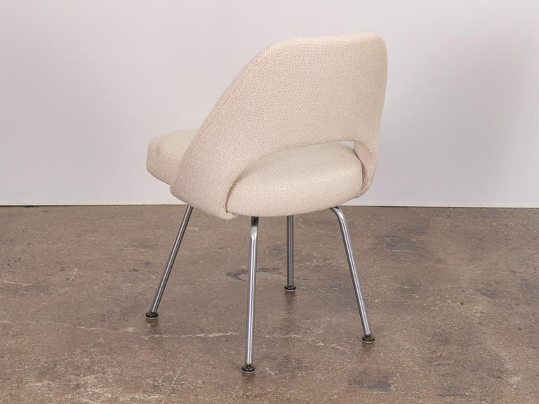 Eero Saarinen Executive Armless Chair For Knoll For Sale