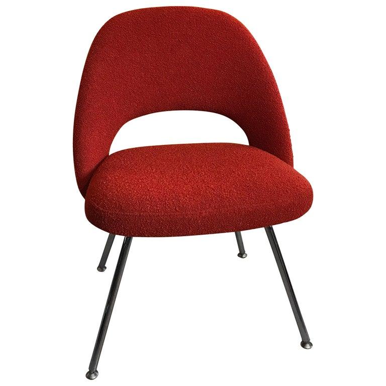 Eero Saarinen Executive Side Chair Chrome Legs For Sale