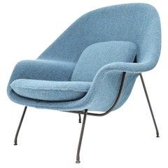 Eero Saarinen for Knoll Early Womb Chair in new Larsen Upholstery