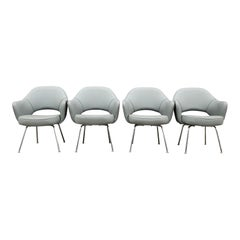 Eero Saarinen for Knoll Executive Chairs for Re-Upholstery