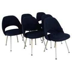 Eero Saarinen for Knoll Mid Century Executive Dining Chairs - Set of 6