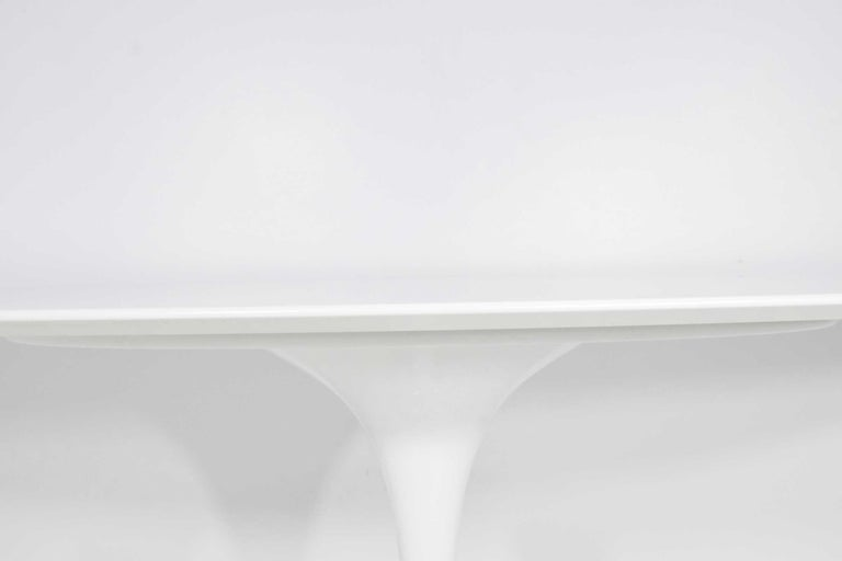 Remarkable Eero Saarinen For Knoll Oval Tulip Table Bei 1Stdibs Uwap Interior Chair Design Uwaporg