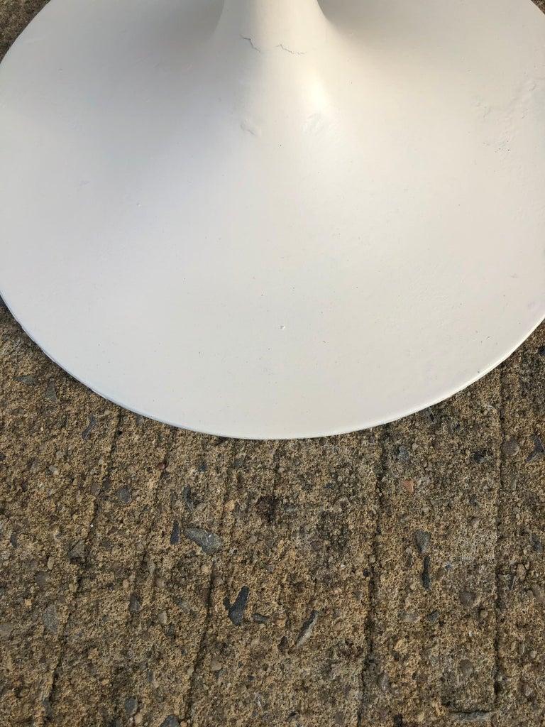 Eero Saarinen for Knoll Walnut Tulip Side Table For Sale 5