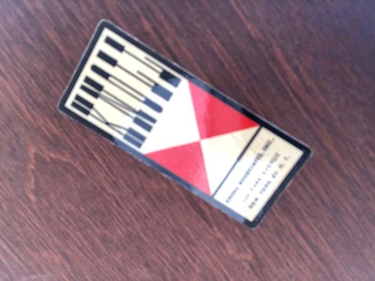 Metal Eero Saarinen for Knoll Walnut Tulip Side Table For Sale
