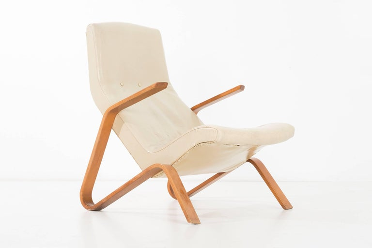 Mid-Century Modern Eero Saarinen Grasshopper Lounge Chair For Sale