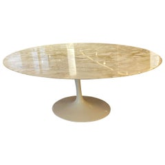 "Eero Saarinen & Knoll International ""Tulip"" Oval Table"