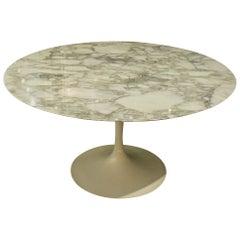 "Eero Saarinen & Knoll International ""Tulip"" Table ""Calacatta Vagli"""
