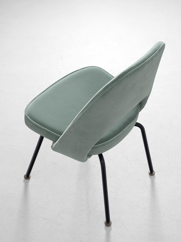 Mid-20th Century Eero Saarinen Set of Eight Customized Dining Chairs For Sale