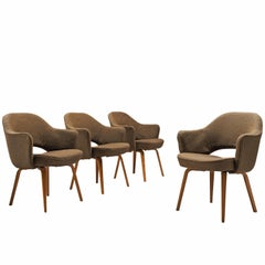 Eero Saarinen Set of Four Executive Chairs for Knoll