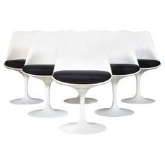 Eero Saarinen Swiveling Tulip Chairs for Knoll
