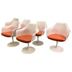 Eero Saarinen Tulip Armchairs by Knoll