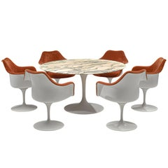 Eero Saarinen 'Tulip' Dining Set for Knoll