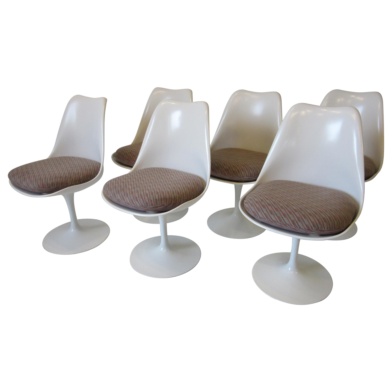 Eero Saarinen Tulip Side Chairs for Knoll