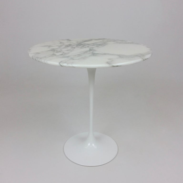 Eero Saarinen Tulip Side Table for Knoll For Sale 5