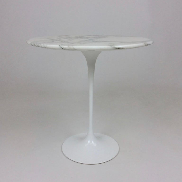 American Eero Saarinen Tulip Side Table for Knoll For Sale