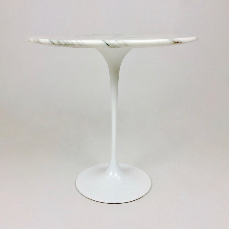 Late 20th Century Eero Saarinen Tulip Side Table for Knoll For Sale