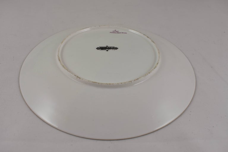EF Bodley Staffordshire Dead Game Plates, a Hamburgh Fowl and Grouse, circa 1875 For Sale 1