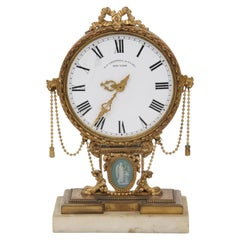 E.F. Caldwell Neoclassical Desk Clock