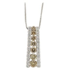 Effy Diamond Drop Pendant Necklace