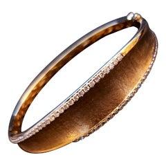 Effy D'Oro 14 Karat Yellow Gold with Diamond Accents Bracelet