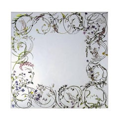Egeso Wild Herbs Mirror by Bertocco & Locatelli for Driade