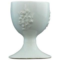 Egg Cup, Bow Porcelain Factory, circa 1752