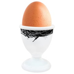"""Egg Cup Model """"Black and White"""""""