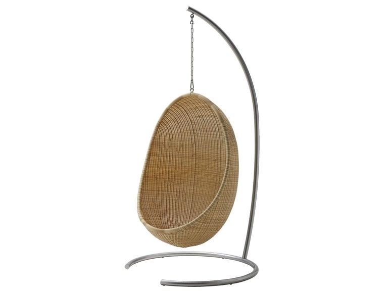 Scandinavian Egg Hanging Chair by Nanna Ditzel, New Edition