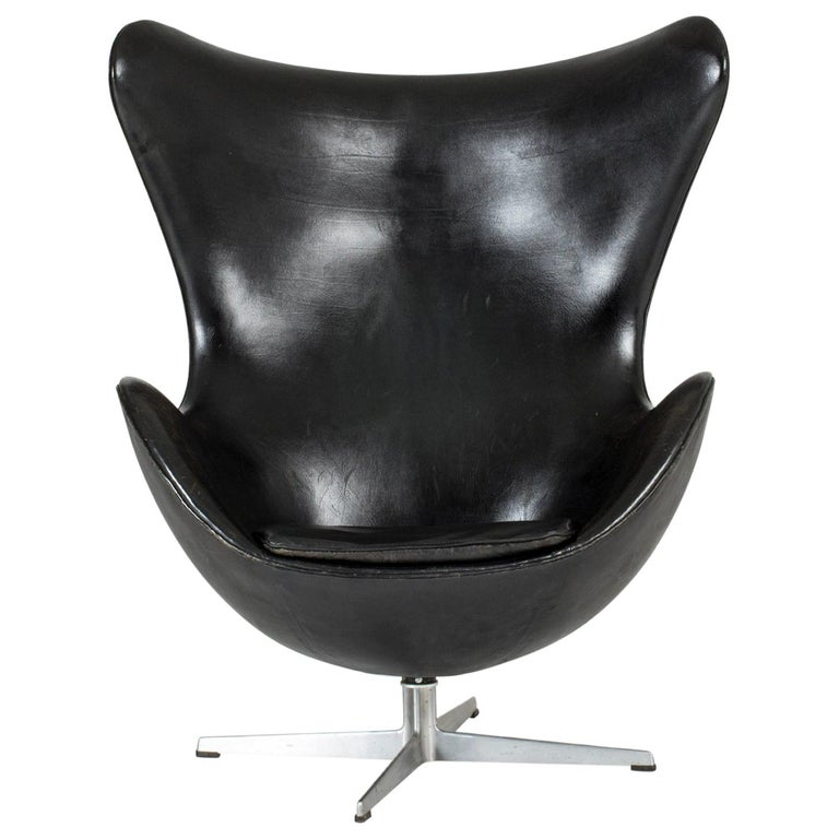 """Egg"" Lounge Chair by Arne Jacobsen For Sale"