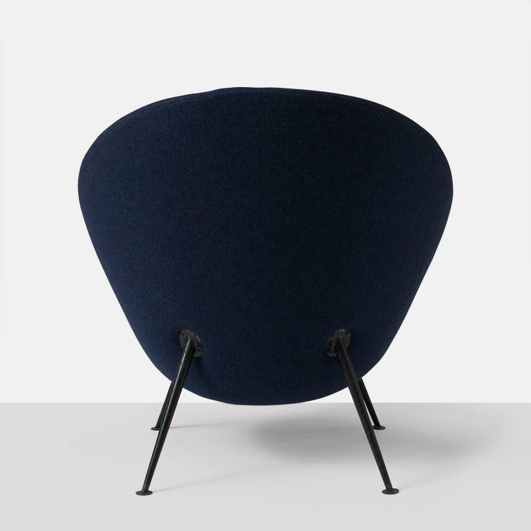 """""""Egg"""" Lounge Chair by Ico Parisi In Excellent Condition For Sale In San Francisco, CA"""