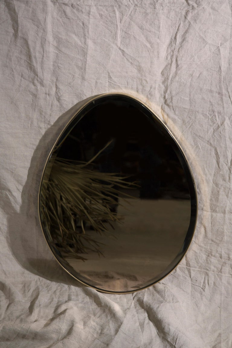 Egg Mirror Signed by Novocastrian For Sale 1