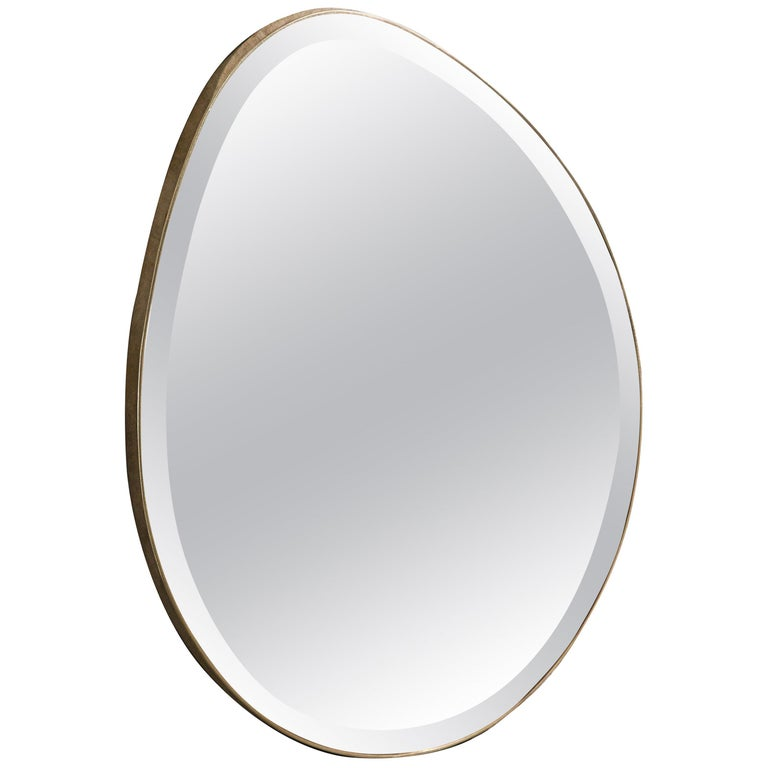 Egg Mirror Signed by Novocastrian For Sale