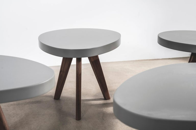 British 'Egg' Side Tables Designed by Russell Pinch For Sale