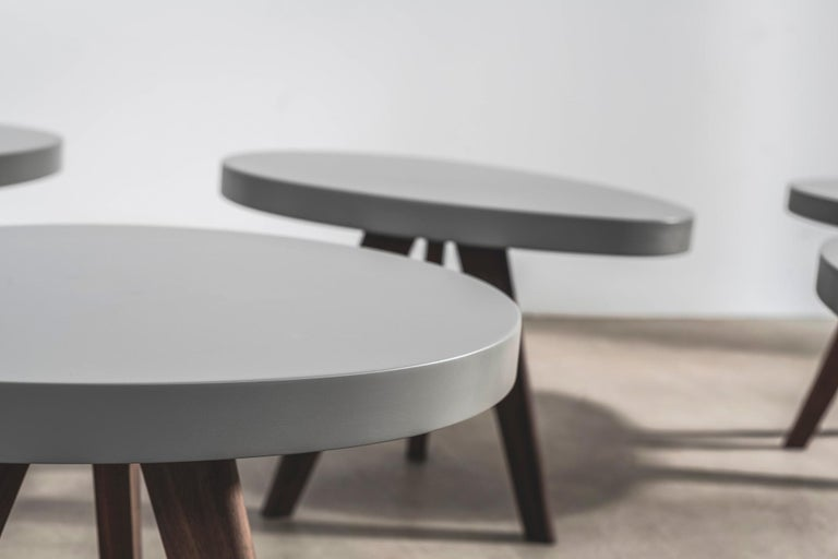 'Egg' Side Tables Designed by Russell Pinch In New Condition For Sale In London, GB