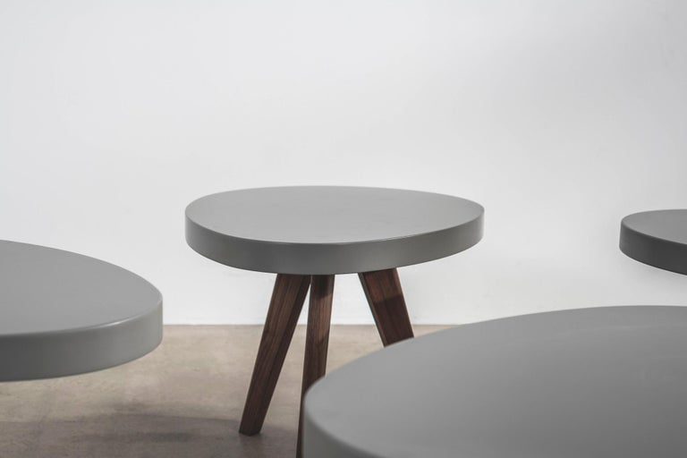 Contemporary 'Egg' Side Tables Designed by Russell Pinch For Sale
