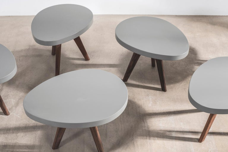 'Egg' Side Tables Designed by Russell Pinch For Sale 1
