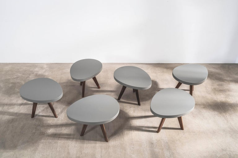 'Egg' Side Tables Designed by Russell Pinch For Sale 2