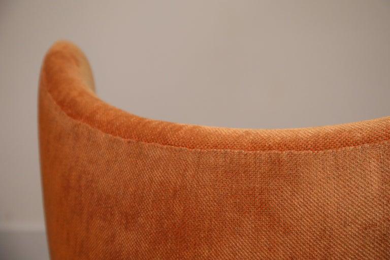 Egg Swivel Chair by Arne Jacobsen for Fritz Hansen, Double Signed, August 1967 For Sale 11