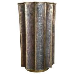 Egidio Casagrande Brass Umbrella Stand