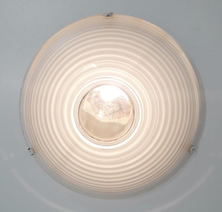 Egina Flush Mount by Artemide In Good Condition For Sale In Palm Springs, CA