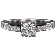 EGL Certified 1.20 Carat Engagement Ring